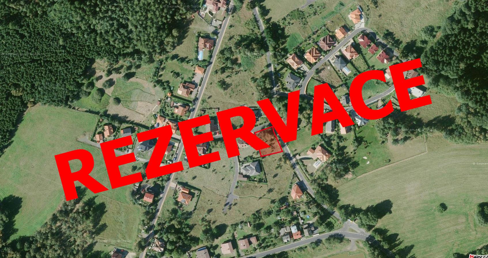 REZERVACE Pozemek Karlovy Vary, Olšová Vrata, Motýlek, Realitykv